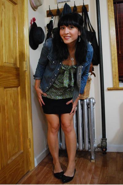 Thrifted Gap shirt - kensiegirl top - wilfred skirt