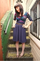 American Apparel skirt - H & M top - H & M tights - Payless shoes