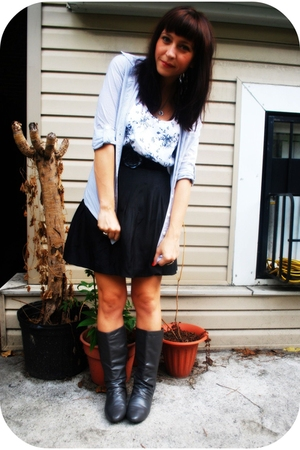 Forever21 shirt - Forever 21 top - kensie skirt