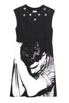 Ian Curtis Joy Division Studded Sheath Dress