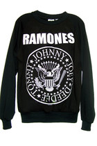 Ramones Presidential Seal Logo Long Sleeve Mens T-Shirt Sweatshirt