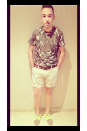 army green Topman t-shirt