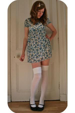blue Pussycat dress - white Topshop socks