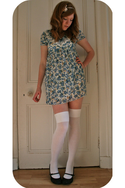 blue Pussycat dress - white Topshop socks