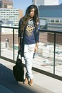 Ivory-urban-outfitters-jeans-navy-duster-h-m-sweater