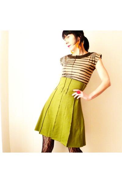 olive green iheartfink skirt