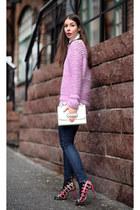 amethyst ddeisgners emix sweater - white Celine top