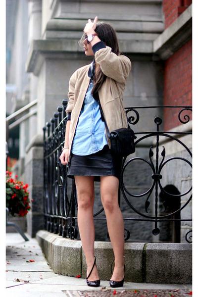 camel Marc Jacobs jacket - black Isabel Marant heels