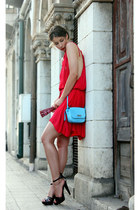 Isabel Marant dress - Tosca Blu purse - Burberry heels