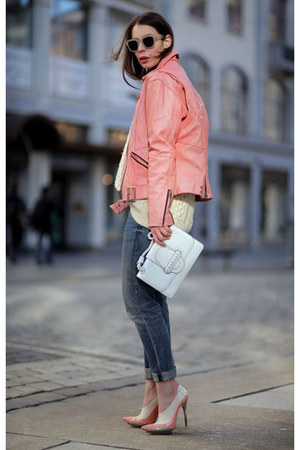 bubble gum vintage jacket - bubble gum balenciaga heels