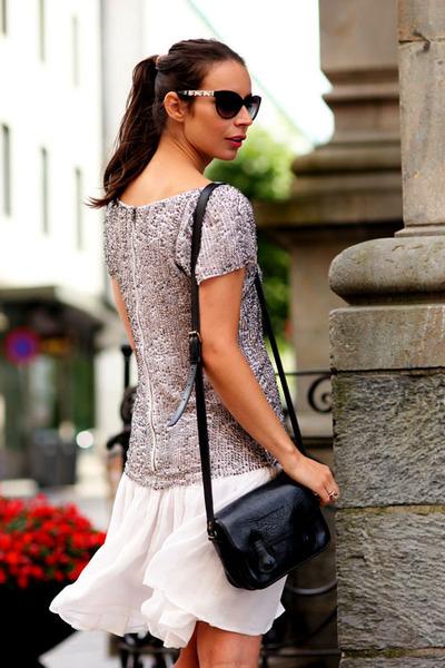 silver Alice Olivia dress