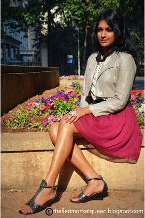 Globus jacket - Vero Moda skirt - Globus ring