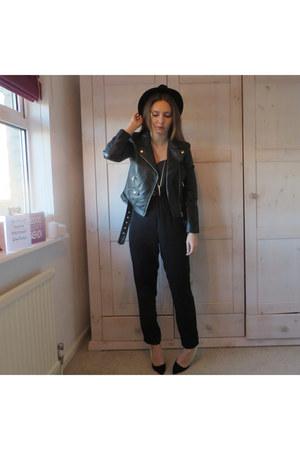 H&M jacket - Ebay bodysuit - Primark heels