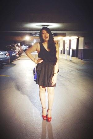Michael Kors watch - asos dress - sam edelman bag - sam heels