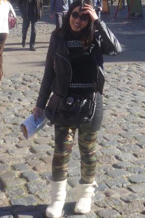 military e bay leggings - cardigan Ugg Australia boots