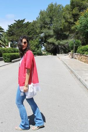 Mango jeans - handmade jacket