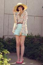 chartreuse Audrey shirt