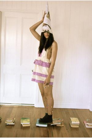 cotton yellowcake dress
