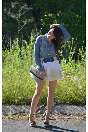 off white abercrombie and fitch skirt - platform shoes Tommy Hilfiger shoes