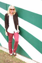 LC Lauren Conrad jeans - Forever 21 sweater - kate spade sunglasses