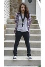 Black-diy-shoes-heather-gray-forever-21-shirt-black-pants-heather-gray-for