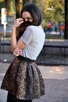 Zara skirt - asos boots