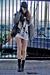 white shredded BikBok sweater - black lace up H&M boots