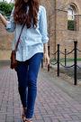 Blue-socks-brown-blazer-blue-jeans-brown-socks-brown-brown