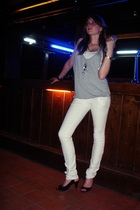 pull&bear shirt - pull&bear jeans - Zara shoes - H&M accessories
