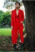 don protasio jacket - Bespoke pants - Soule Phenomenon boots - DIY top