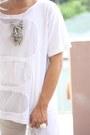 White-paradigm-shift-shirt-white-asian-vogue-wedges