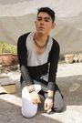 White-kawaii-shirt-white-diy-pants-black-topman-accessories-black-topman-a