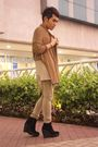 Green-drex-fable-coat-beige-banana-republic-shirt-beige-hongkong-pants-bla