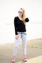 angelpremium jeans - sammydress sweater - Superga sneakers