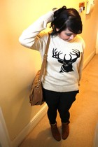 Primark jumper - Ebay bag - Etsy shoes