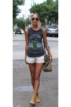 Chinese Laundry boots - Alexander Wang bag - free people shorts