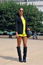 Black-bcbg-max-azria-blazer-black-alexander-wang-bag-yellow-naven-shorts