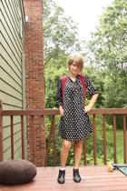 Lux dress - delias vest - boots