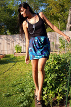Old Navy top - Victoria Spencer shoes - Target GO International skirt - Grandma