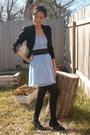 Blue-rodarte-for-target-dress-black-estate-sale-blazer-black-buffalo-exchang
