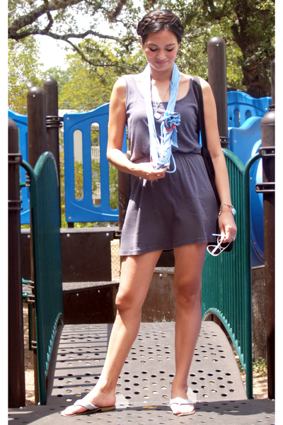 American Apparel dress - The WonderCraft scarf - Xhileration shoes - Urban Outfi