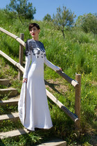 white JORGE ACUA dress