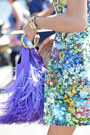 Dress-dress-dress-feathers-bag