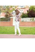 Zara jeans - Springfield blouse