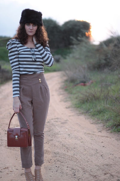 light brown solo mia pants