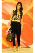WAGW top - random brand belt - thrifted shoes - maldita pants - by Ephraim Raban