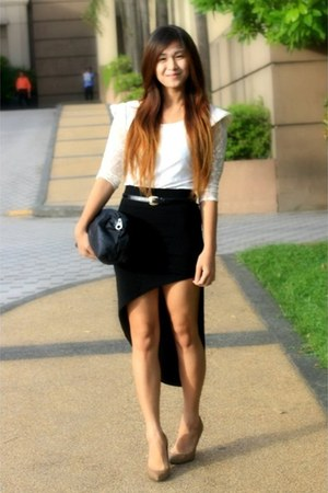black bazaar find skirt - gold snakeskin pumps BestFindsThrfiShop shoes