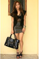 JC Foxy Replica shoes - BESTFINDS THRIFTSHOP skirt - BESTFINDS THRIFTSHOP top