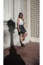 Black-booties-zara-boots-white-zerouv-sunglasses