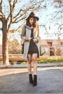 Black-suede-ivanka-trump-boots-black-cutout-bodycon-charlotte-russe-dress